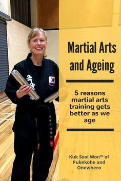 Training in a traditional martial art like Kuk Sool Won can get better as we age by focusing on making a difference, being mindful, and improving mental and physical health. Korean Martial Arts, Best Martial Arts, Martial Arts Styles, Martial Arts Techniques, Martial Arts Women, Martial Arts Training, Karate Training, Tang Soo Do, Krav Maga Self Defense