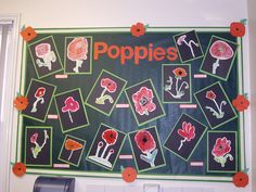 I love this display for Remembrance Day. The colours work so well together. I love this display for Remembrance Day. The colours work so well together. The black backing paper provide Remembrance Day Activities, Remembrance Day Art, School Displays, Classroom Displays, Classroom Ideas, Peace Crafts, Eyfs Activities, Sorting Activities, Autumn Activities