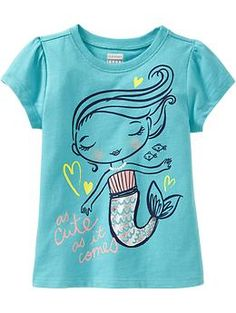 Graphic Crew-Neck Tees for Baby | Old Navy
