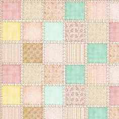 A lovely pastel patchwork free paper by Donna of Bearly Mine Designs.  She designs fabulous paper sets at reasonable prices, but also does regular freebies.