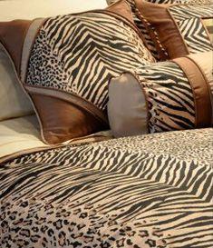 Urban Safari Animal Print Comforter