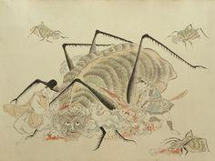 Tsuchigumo Zoshi scroll