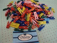 Kit 50 Mini Prendedores -- Clique aqui para comprar: http://www.quianestore.com/produto/64/Kit-50-Mini-Prendedores