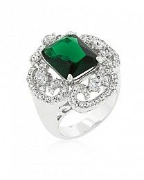 I'll take emerald anytime, any day. And, considering it's Pantone's color of the year, it would even be more special. And...my birthstone too:)