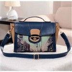 Casual PU Patchwork Printing Retro Style Women's Bags DTH-281731
