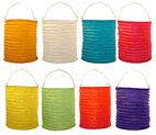 Party Decor - Paper Candle Lanterns