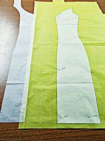 Traje-vestido-flamenca-patrón-paso a paso-costura-volantes-enagua-13 Fashion Details, Textiles, Sewing, How To Make, Clothes, Underwear, Barbie, Dress Template, Tela