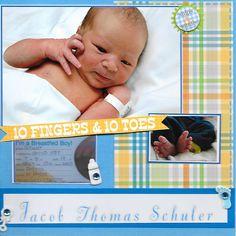 Jacob ARRIVES - Scrapbook.com