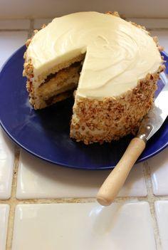Oatmeal cookie cake