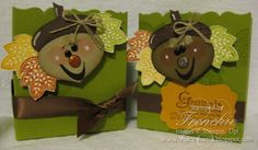 Stampin' Up!  Ornament Punch  France Martin  Acorn
