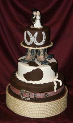 Western Theme Wedding Cake | Wedding Cakes | Pinterest | Western ...
