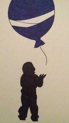 Little boy with a balloon