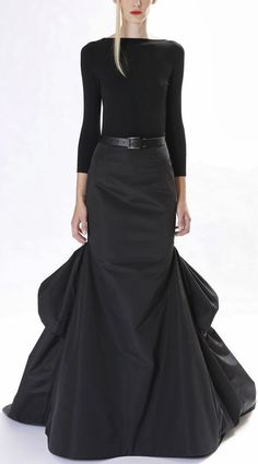 Pretty black gown- Mikael Kors pre fall 2013