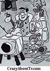 Flintstones .......  I remember when it went to color and how I hated the repeats in black and white after that!