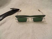 Vtg 1960's Beatles-John Lennon (Penny Lane) Hippy Flip Up Green Sunglasses Japan