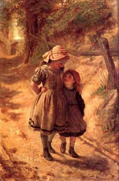 Frederick Morgan Sisters hand painted oil painting reproduction on canvas by artist Art And Illustration, Images Victoriennes, Sisters Art, Victorian Art, Wow Art, Paintings I Love, Beautiful Paintings, Art Pictures, Painting & Drawing