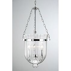 You Will Love The Style And Appeal Of This Glass Lantern Chandelier Featuring A Classic Antique Copper Finish Waved Shade Charming
