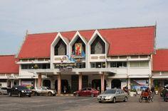 Ubon Ratchathani Train Station, Ubon Ratchathani, Thailand.