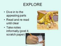 <p>This video introduces five easy steps you can follow when reading non-fiction texts. The steps are:</p><ol><li>Preview</li><li>Skim</li><li>Explore</li><li>Read Actively</li><li>Rescan</li></ol>