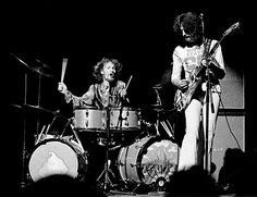 Ginger Baker and Eric Clapton of Cream at Stockholm Konserthus   MY MOST FAVORITE SONG EVER.  This was Clapton and The Cream at their youthful best.
