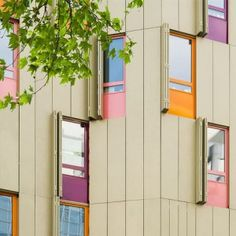 Housing and gallery on Bastille Place by [BP] Architectures