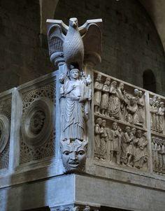 Pulpito della Chiesa di San Bartolomeo in Pantano