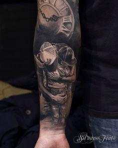 Inkage.fr Site de tatouages Un tatouage réalisé par Silvano Fiato  Notre site :http://buff.ly/1qtZokv Notre boutique: http://buff.ly/1qtZoAI #tattoo #tattoos #tatouage #ink #inked