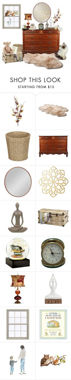 """""""Guess How Much I Love You"""" by lizzyslegs ❤ liked on Polyvore featuring interior, interiors, interior design, home, home decor, interior decorating, UGG Australia, Improvements, Cooper Classics and DutchCrafters"""