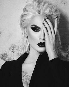 Alex Evans, Toronto Fashion and Portrait Photographer. Drag Queen Makeup, Drag Makeup, Hair Makeup, Drag Queens, Black Mode, Valentina Drag, Alex Evans, Long Haired Men, Adore Delano