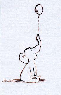 For Cletus @Ashley Walters Felts  Baby elephant. Balloon.