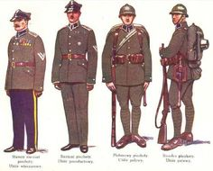Polish soldiers.