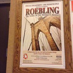 #Roebling #kelseytheatre