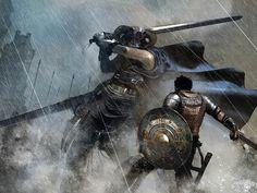 knights by ornicar.deviantart.com on @DeviantArt