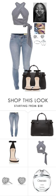 """""""shopping w/ the girls"""" by mikamik on Polyvore featuring Armani Jeans, Burberry, Barneys New York, David Yurman, Calvin Klein and Vita Fede"""