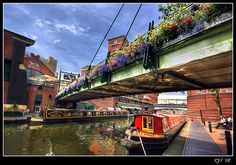 Love the canals near Brindley Place, Birmingham- 2012