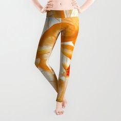 Orange Fish Leggings Spandex Material, Polyester Spandex, Orange Fish, Reiki, Leggings, Pop Art, Your Style, Yoga, High Low