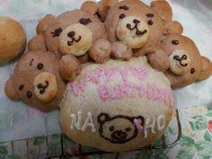 Handmade bread for my sister birthday!
