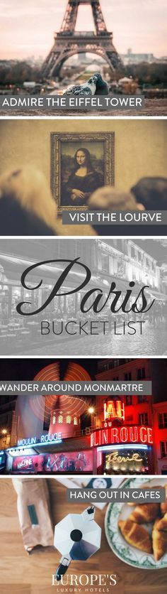 Paris Bucket List | Wondering what to do in Paris? Follow our complete bucket list guide to make sure you don't miss out on anything!