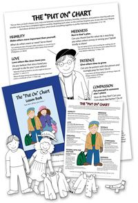 """Teach your kids to """" put on"""" the fruits of the spirit.patience, kindness, love, etc. Other great biblical training tools available here, too! These would be perfect for family worship times. Sunday School Kids, Sunday School Lessons, Object Lessons, Bible Lessons, Bible Study For Kids, Kids Bible, Kids Church, Church Ideas, Bible Activities"""