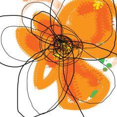 Orange Petals 2 - Jan Weiss
