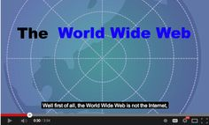 What Is The World Wide Web? A Beautiful Short Animated Explanation for Students ~ Educational Technology and Mobile Learning