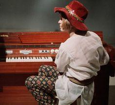 Brian Jones with Mellotron.
