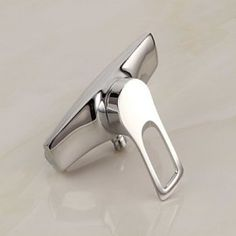 Tub Tap Contemporary Chrome Finish with Handshower