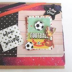 Carte 3d plus enveloppe sport football pâques printemps fête des pères naissance baptême anniversaire faire-part anniversaire lui papa