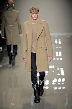 2000s Designer Work Inspired by the Bustle Period - Burberry Ulster Coat