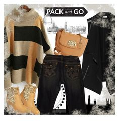 """Pack and Go: London"" by andrejae ❤ liked on Polyvore featuring Vince, Emma Fox, Mojo Moxy, women's clothing, women, female, woman, misses, juniors and Packandgo"