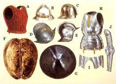 La Pintura y la Guerra. Sursumkorda in memoriam Decorative Lines, Decorative Bells, Mexican Army, Osprey Publishing, Age Of Discovery, Fantasy Armor, Moorish, Renaissance, Heart Shapes