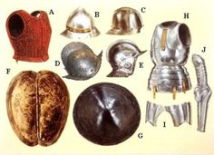Armor pieces.