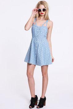 Something Else Dotty Bodice Dress.