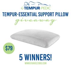 Get a great night's sleep thanks to @sealymattress  and Tempur-Pedic! We're giving away FIVE amazing pillows this #backtoschool season!  (spon)